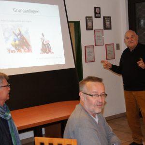 Manfred Thrun während seinem Vortrag