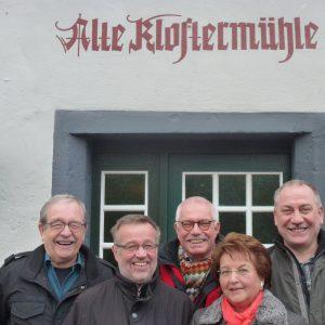 das Organisationsteam der Vilbeler SPD AG 60plus