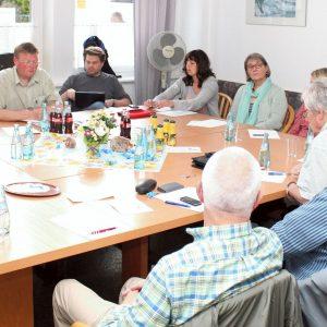 Blick in die Sitzungsrunde