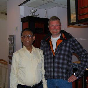 dem neuen Inhaber Vikram Thakur