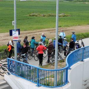 Noch fehlen Abstellmöglichkeiten für Fahrräder am Nordbahnhof