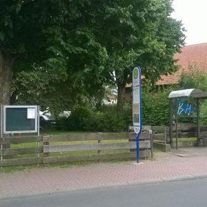 Der ungenutzte Spielplatz an der Kreisstraße, Ecke Limesstraße