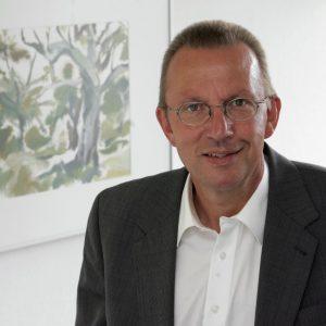 Portrait von landrat Joachim Arnold, SPD