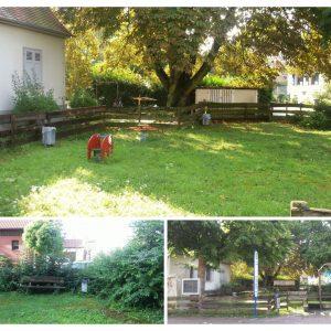 Eindrücke vom vernachlässigten Spielplatz in der kreistarße 60 in Bad Vilbel Dortelweil