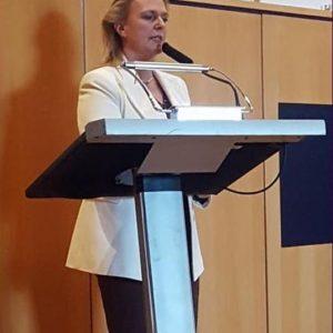 Stephanie Becker-Bösch während ihrer Rede